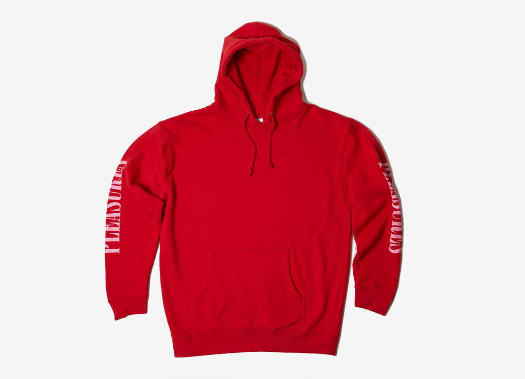 Pleasures Mark Of The Best Pullover Hoody - Red