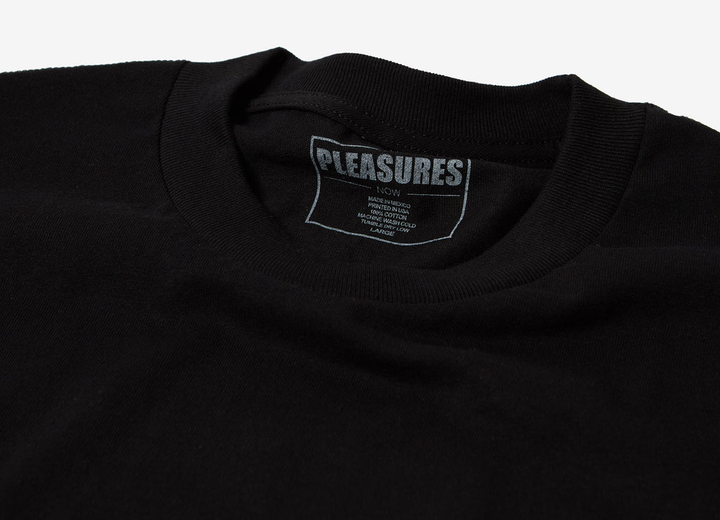 Pleasures Mark Of The Beast T Shirt - Black/Green