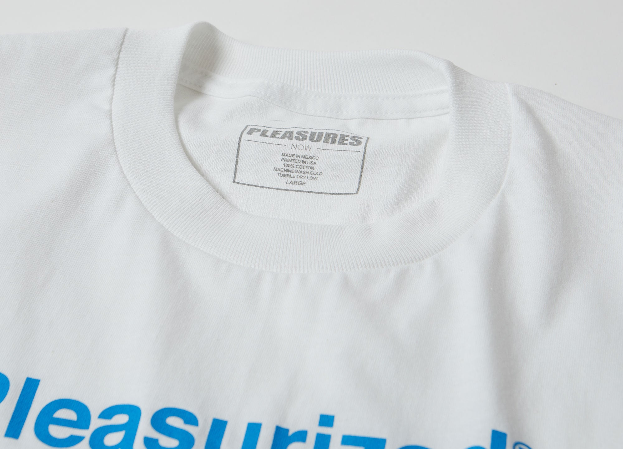 Pleasures Pleasurized T Shirt - White