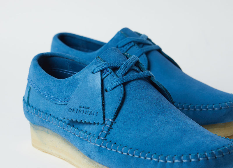 Clarks Originals Weaver Shoes - Ocean Blue