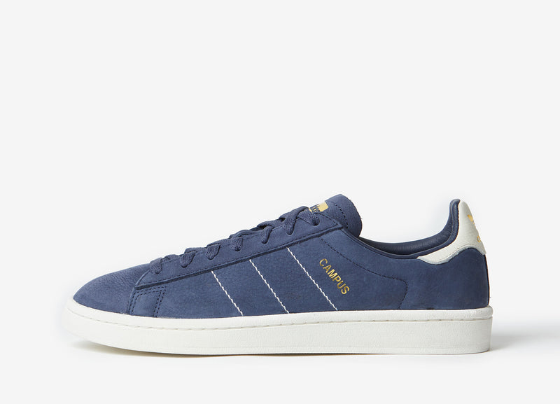 adidas Originals Campus Shoes - Trace Blue/Chalk White