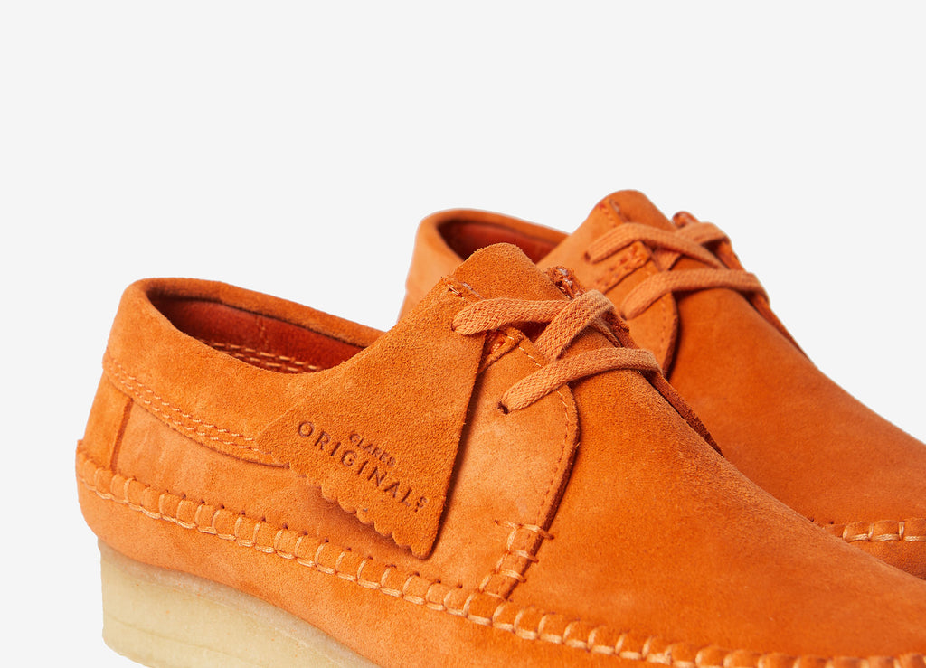 Clarks Originals Weaver Shoes - Spiced Orange