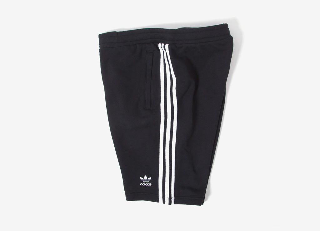 adidas Originals 3-Stripes Shorts - Black/White