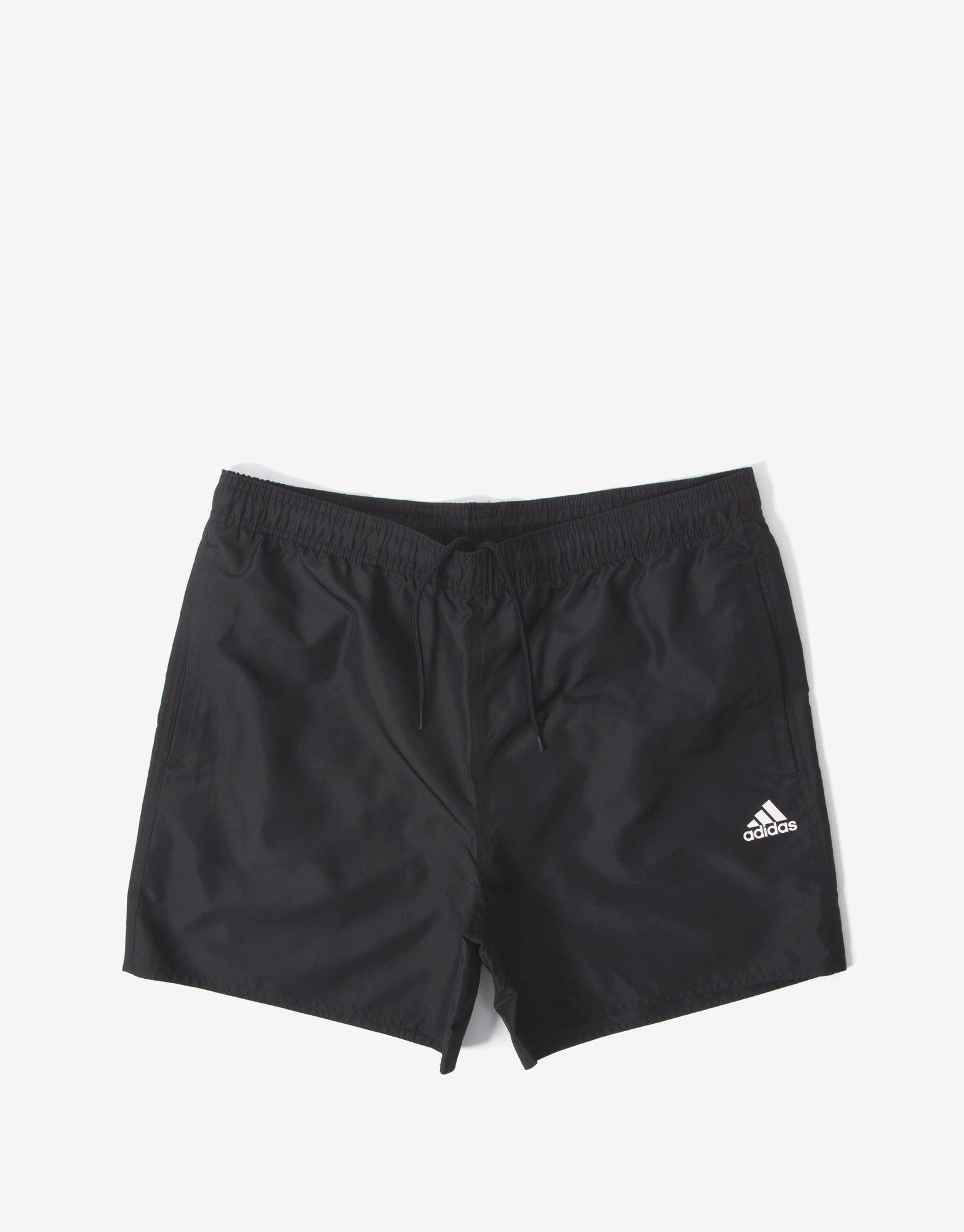 adidas CLX Solid Swim Shorts - Black