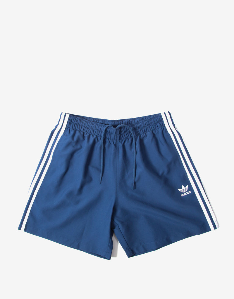 adidas Originals 3 Stripe Swim Shorts - Navy Marine