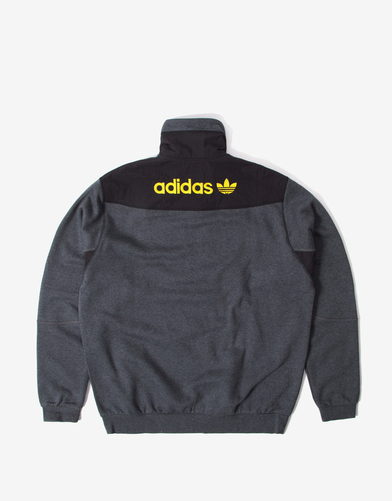 adidas Originals ADV Field Half Zip - Dark Grey Heather