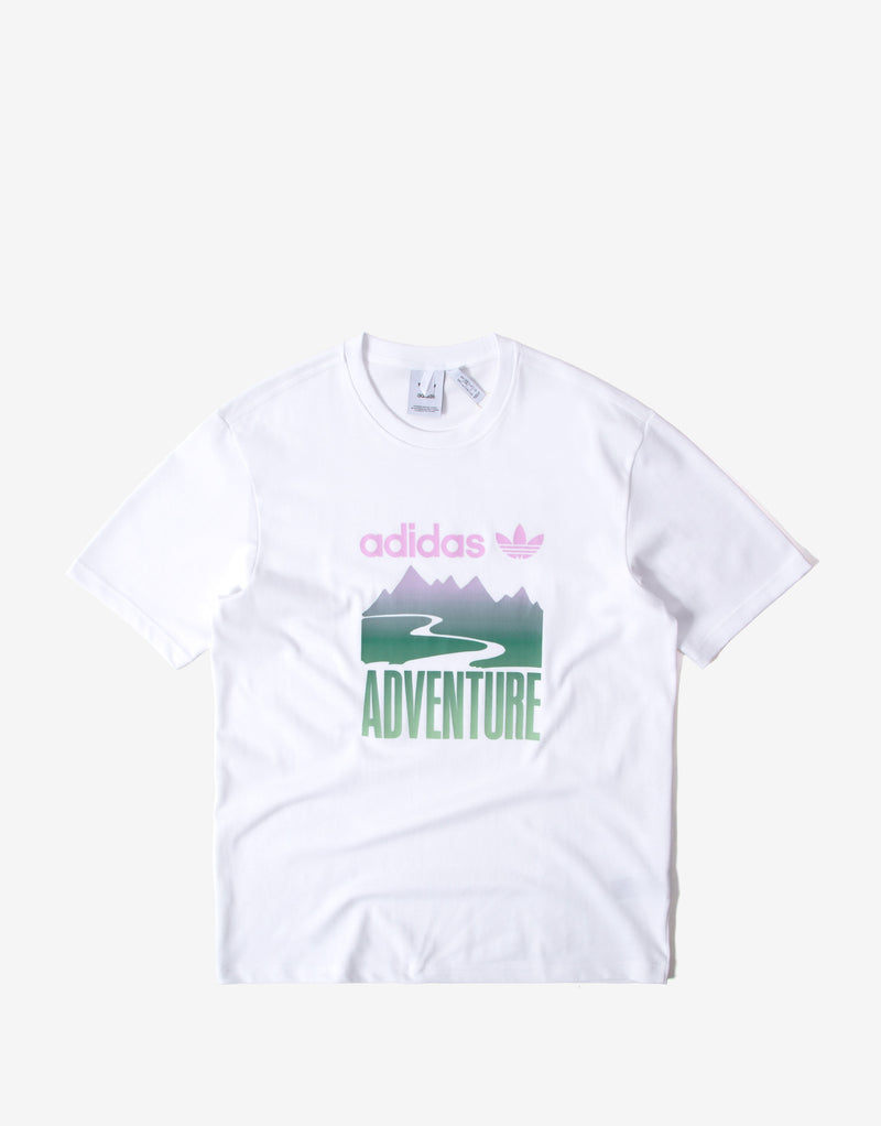 adidas Originals ADV Mountain T Shirt - White