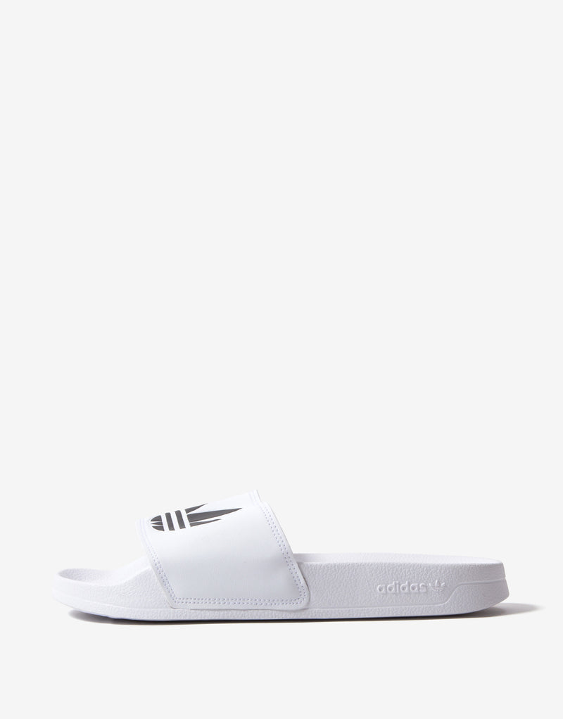 adidas Originals Adilette Lite Slides - White/Black