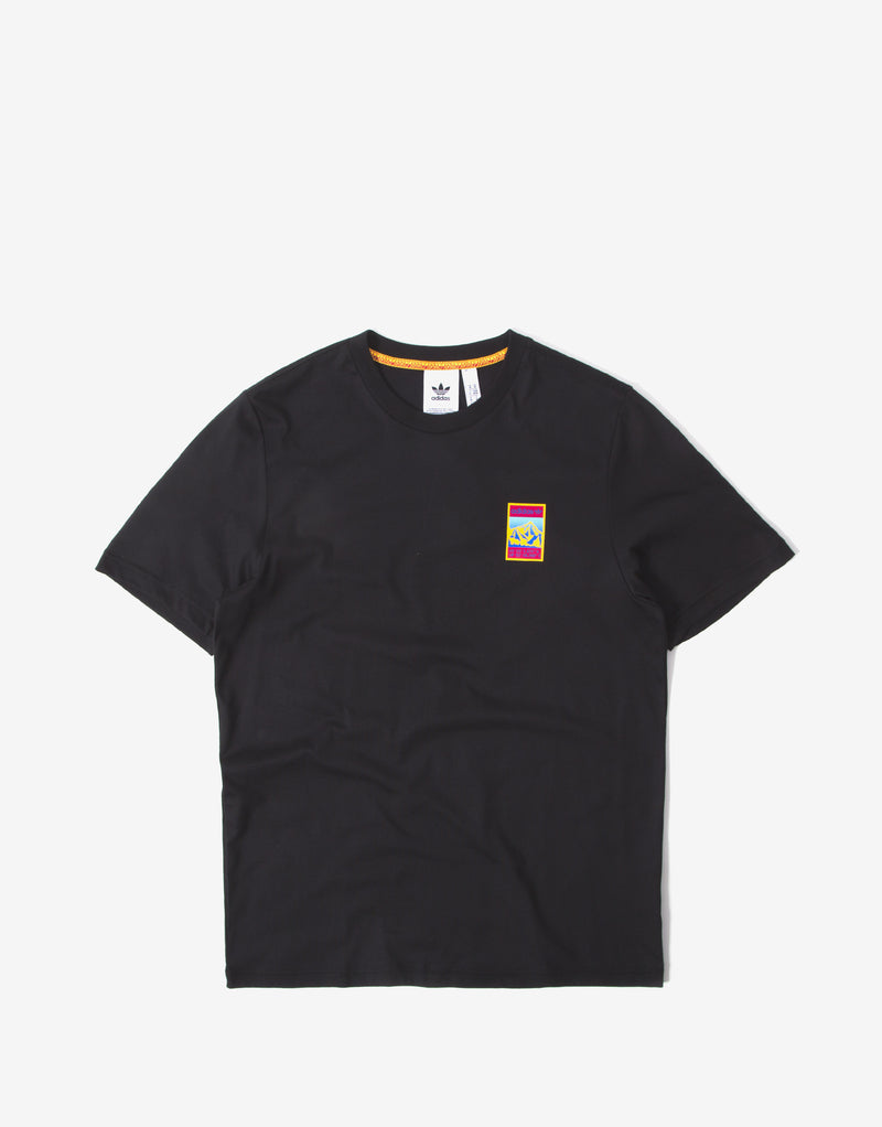 adidas Originals Adiplore Graphic T Shirt - Black