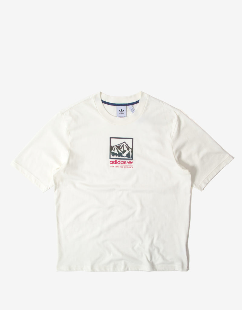 adidas Originals Adiplore Prem. T Shirt - Off White