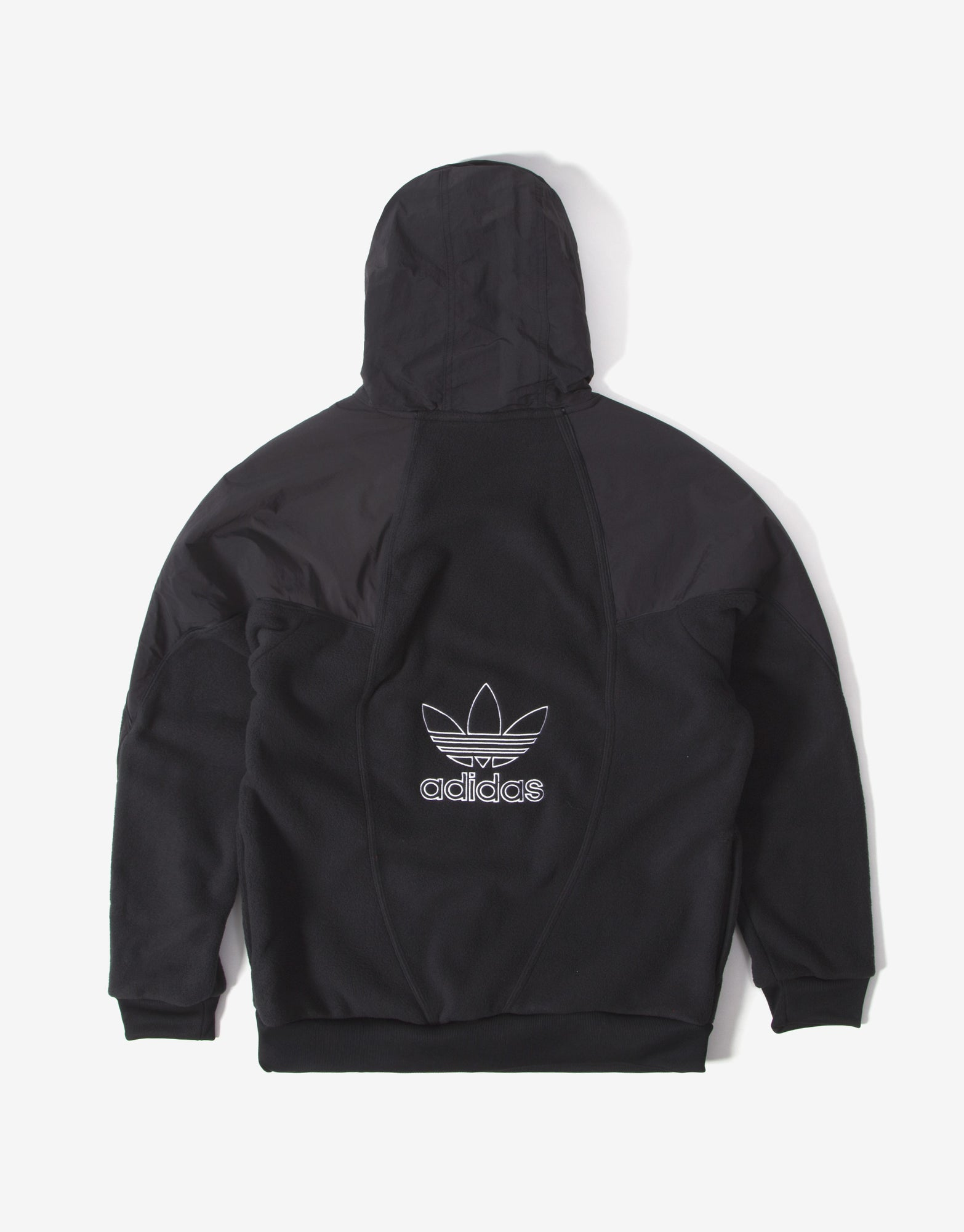 adidas Originals BG TRF Mix Hoody - Black