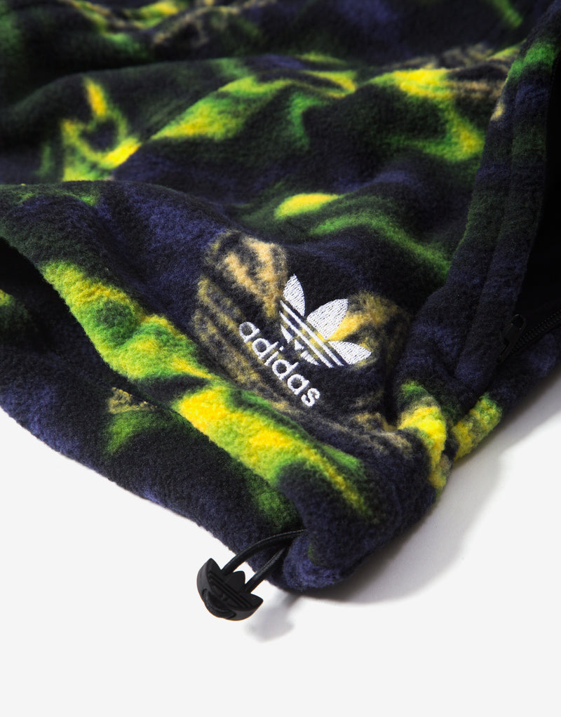 adidas Originals Big Trefoil Print Track Top - Multi