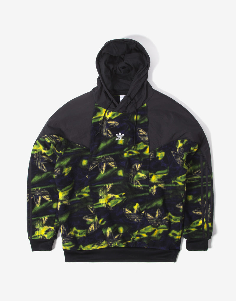 adidas Originals Big Trefoil Printed Hoody - Multi