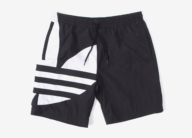 adidas Originals Big Trefoil Track Shorts - Black
