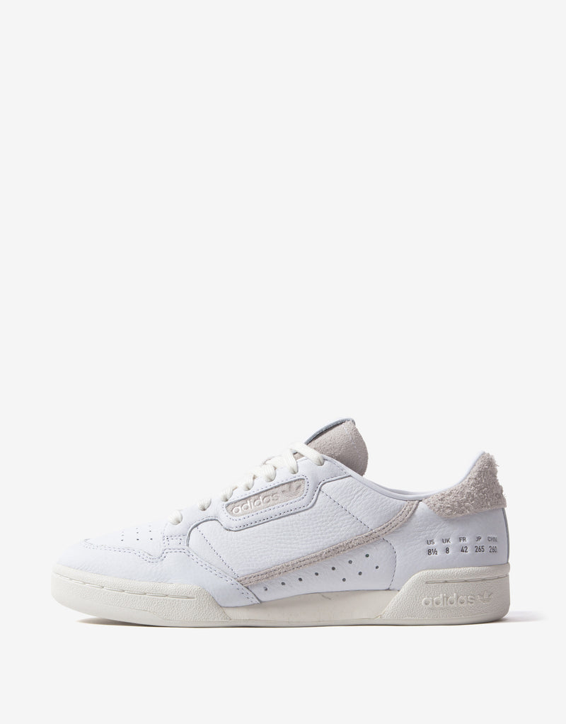 adidas Originals Continental 80 Shoes - White/Off White