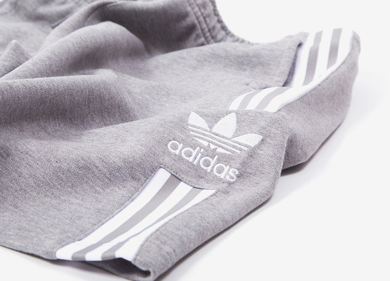 adidas Originals Lockup Long Short - Grey Heather