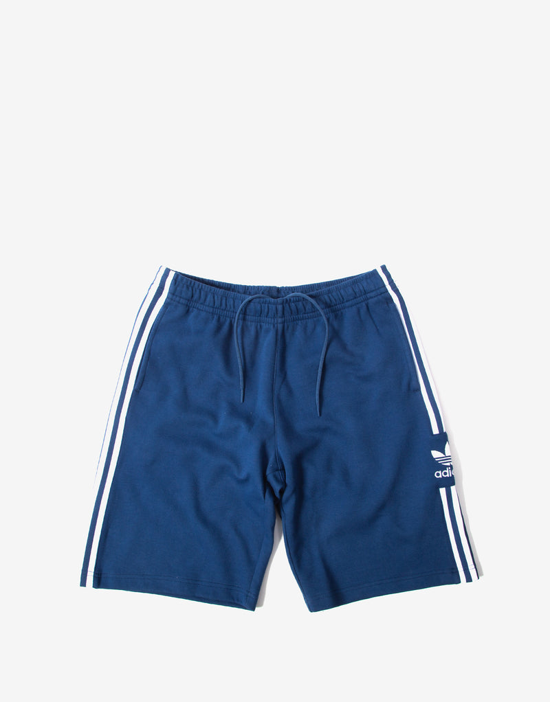 adidas Originals Lockup Long Shorts - Navy Marine