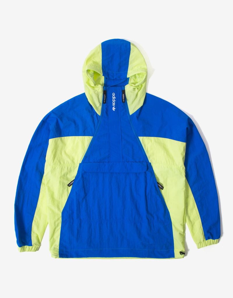 adidas Originals Mish Mash Block Shell Jacket - Semi Frozen Yellow