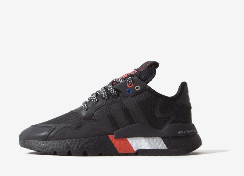 adidas Originals Nite Jogger Shoes - Black/Black
