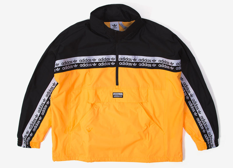adidas Originals RYV Track Top - Fluorescent Orange/Black