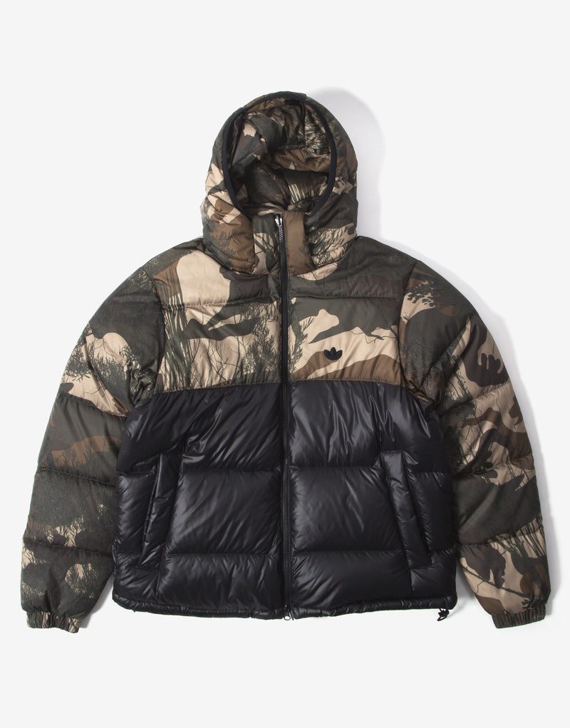 adidas Originals Regen Down Camo Jacket - Mucoca/Black