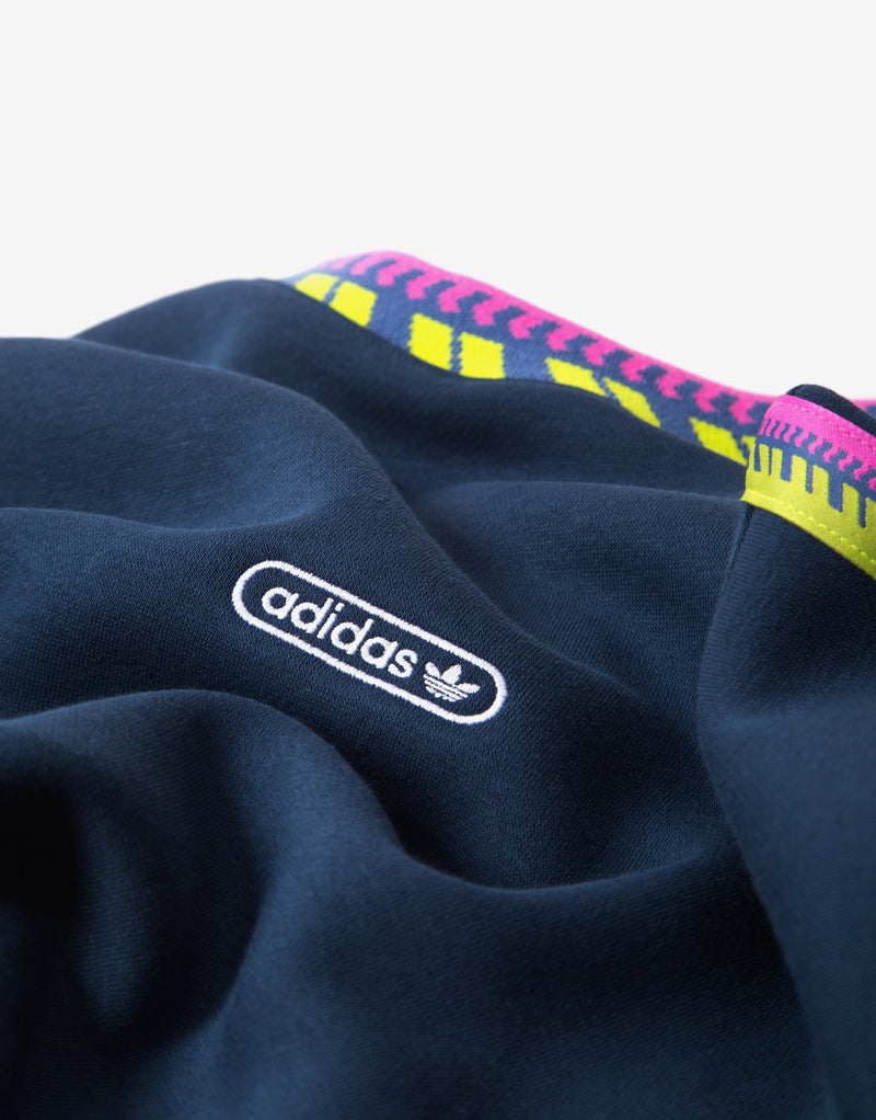 adidas Originals Rib Detail Crewneck - Navy
