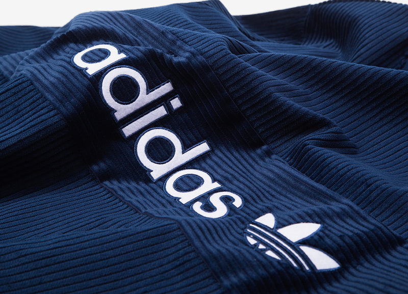 adidas Originals Samstag Cord Sweatshirt - Night Indigo