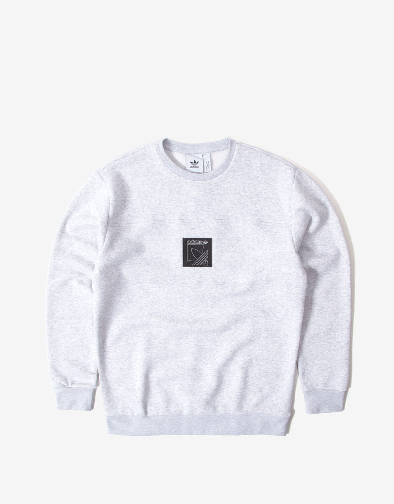 adidas Originals Sport Icon Sweatshirt - Light Grey Heather