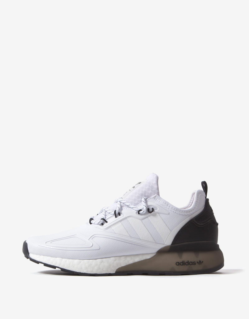 adidas Originals ZX 2K Boost Shoes - Feather White/Core Black/Feather White