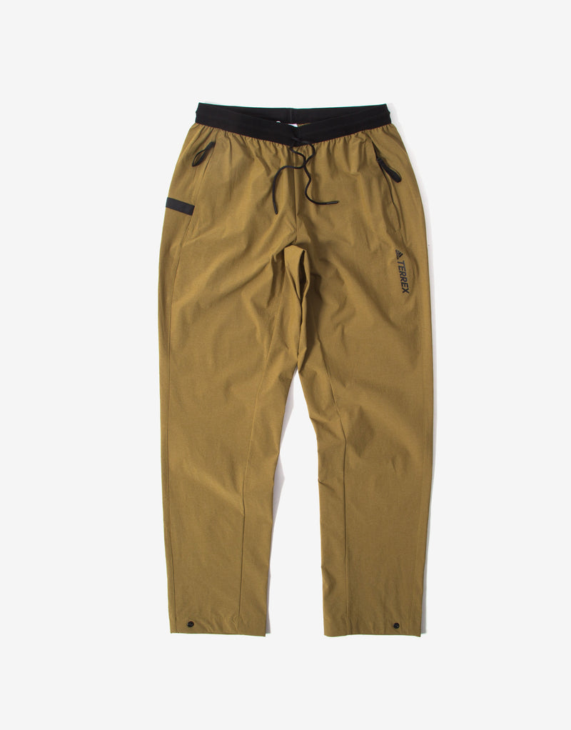 adidas TERREX Liteflex Hiking Track Pants - Brown Malt/Wild Pine