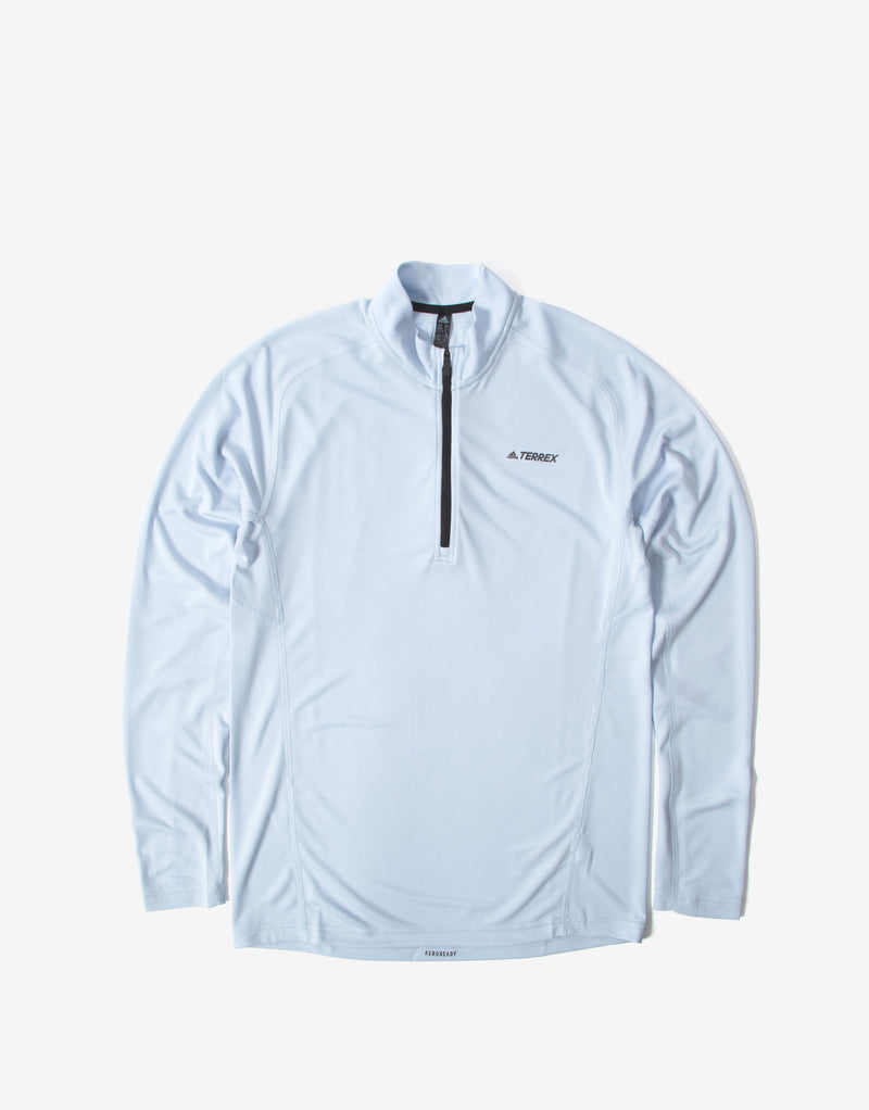 adidas TERREX Trace Rocker Long Sleeve Top - Halo Blue