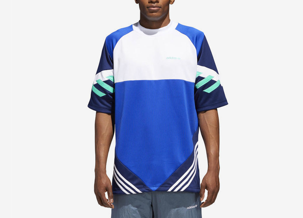 adidas Originals Chop Shop T Shirt - Bold Blue/Dark Blue