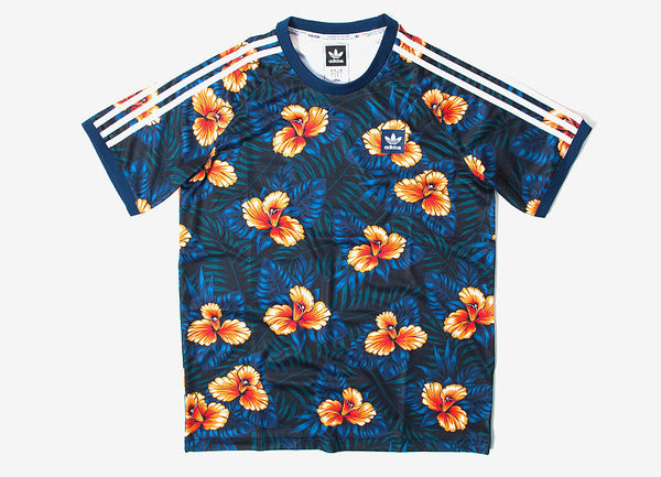 Adidas Originals Sweetleaf Jersey T Shirt Allover At The