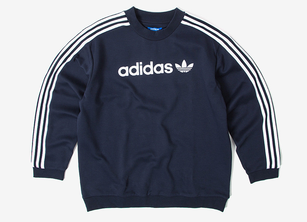 adidas Originals Linear Trefoil Sweatshirt Legend Ink