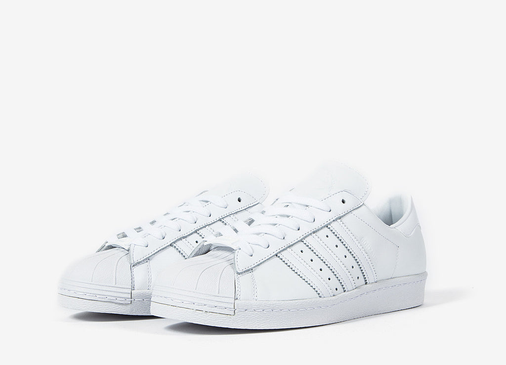 adidas Originals Superstar 80s Shoes by Gonz - Ftwr White
