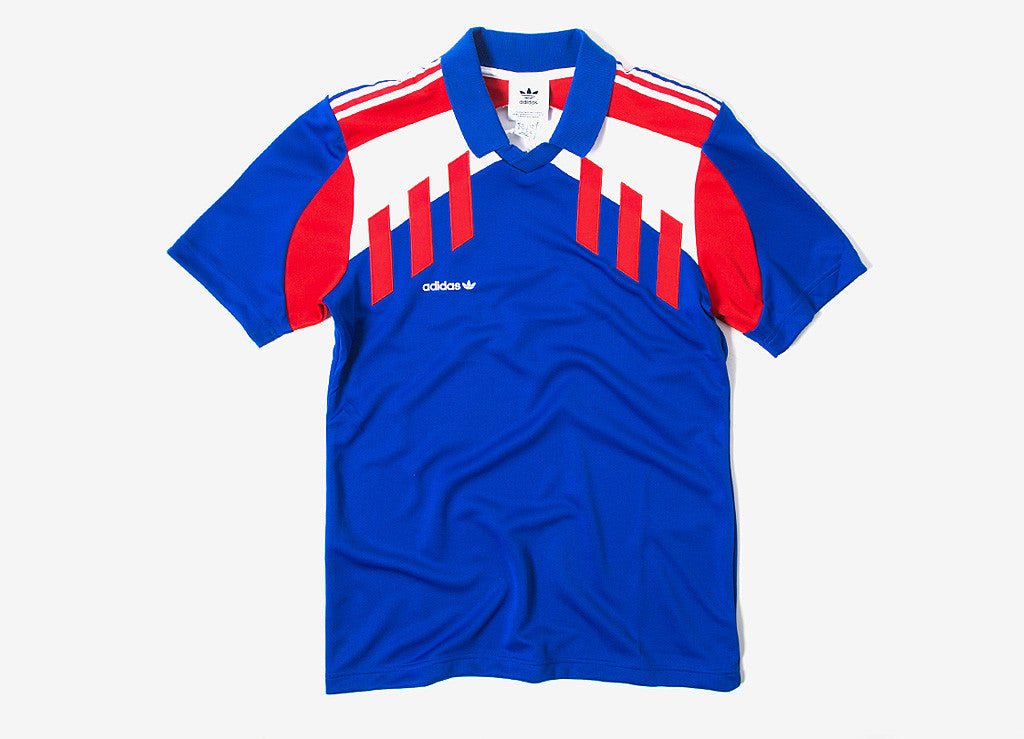 adidas Originals Tri Colore Jersey - Bold Blue