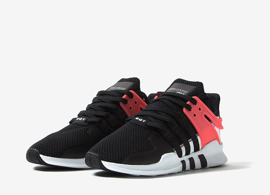 adidas Originals EQT Support ADV Shoes - Core Black/Turbo