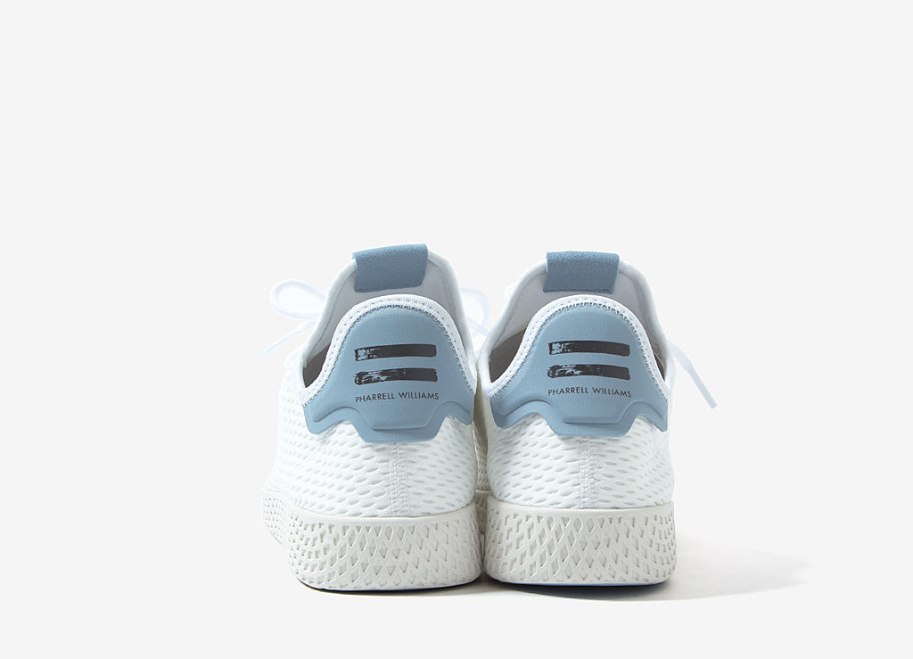 Pharrell x adidas Originals Tennis Hu Shoes - White/Blue