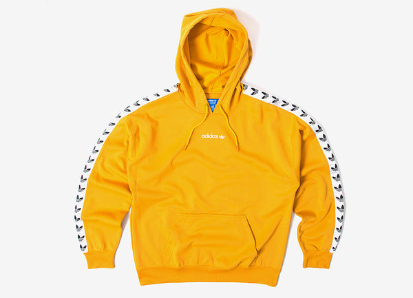 adidas Originals TNT Trefoil Tape Pullover Hoody Yellow at Chimp   The  Chimp Store 811558c78b