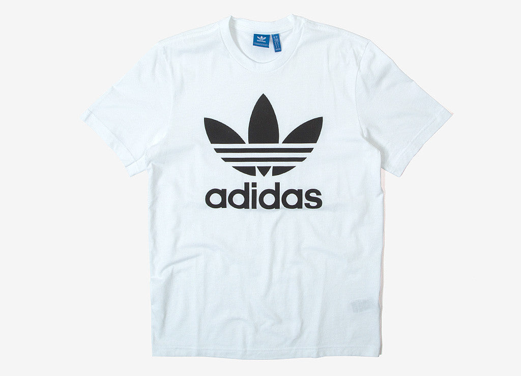 adidas Originals Trefoil T Shirt - White/Black