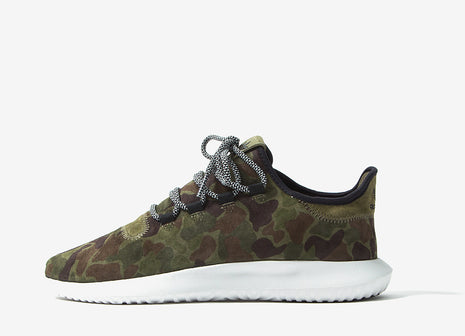 adidas Originals Tubular Shadow Shoes - Olive Cargo/Vintage White