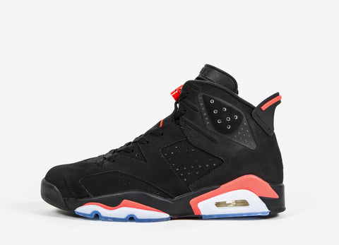 Air Jordan VI Retro 'Black/Infrared 23' Shoes - Black/Infrared23-Black