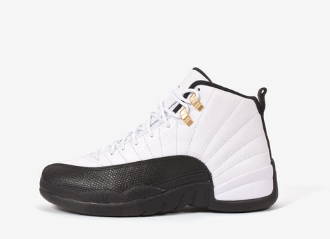 Nike Air Jordan XII Retro 'Taxi' Shoes - White/Black-Taxi-Varsity Red