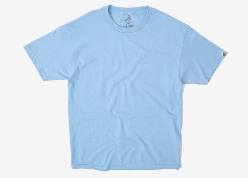 Chimp Heavyweight Premium Basic T Shirt - Powder Blue