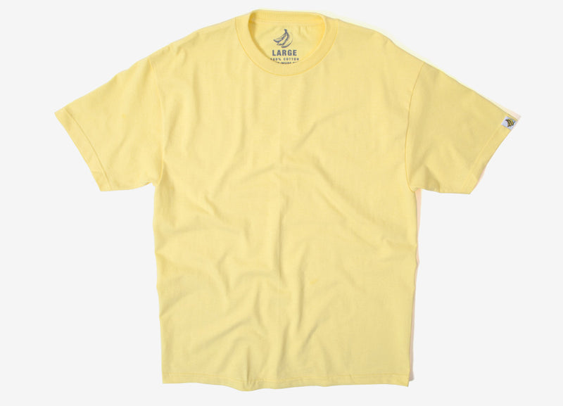 Chimp Heavyweight Premium Basic T Shirt - Banana