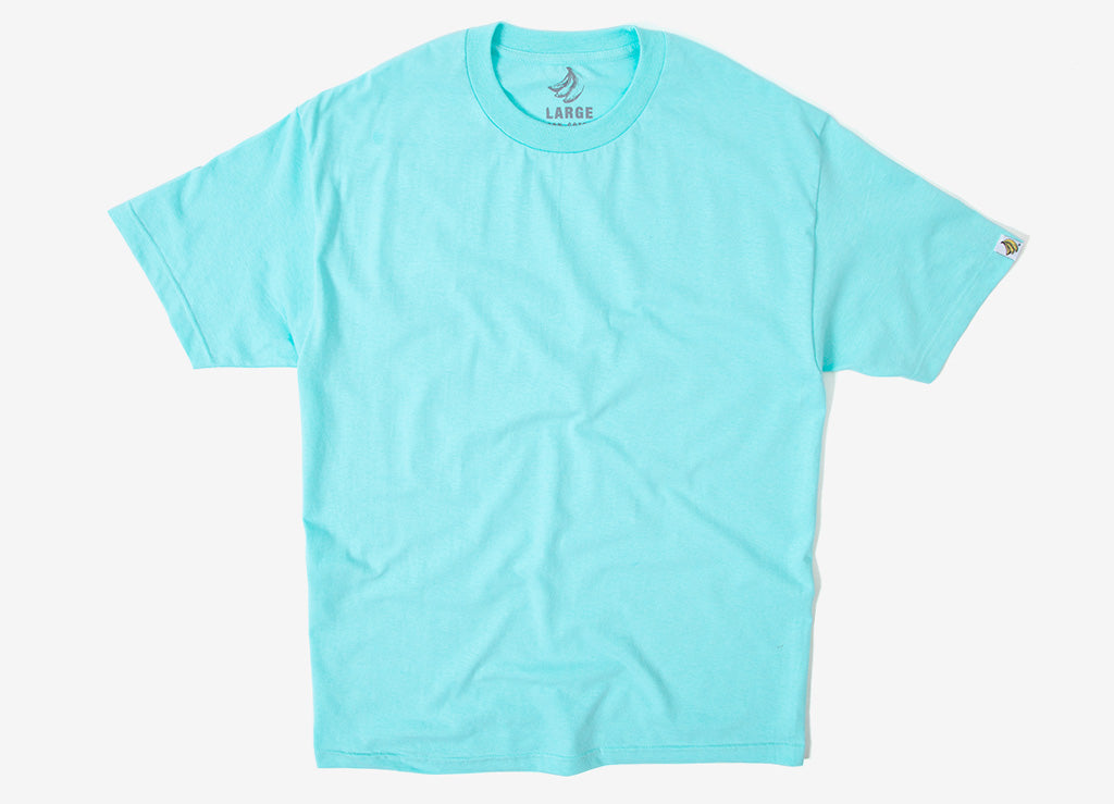 Chimp Heavyweight Premium Basic T Shirt - Celadon