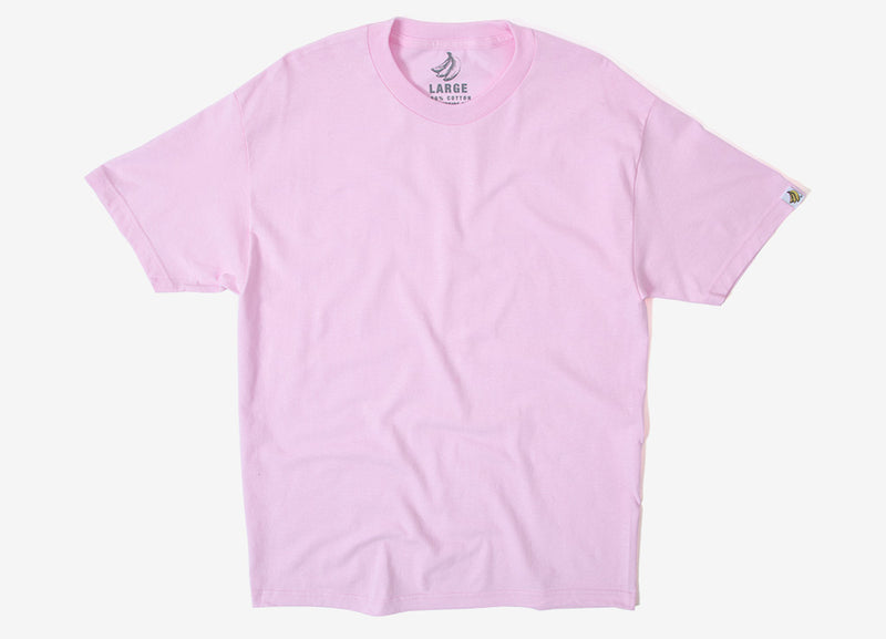 Chimp Heavyweight Premium Basic T Shirt - Pink