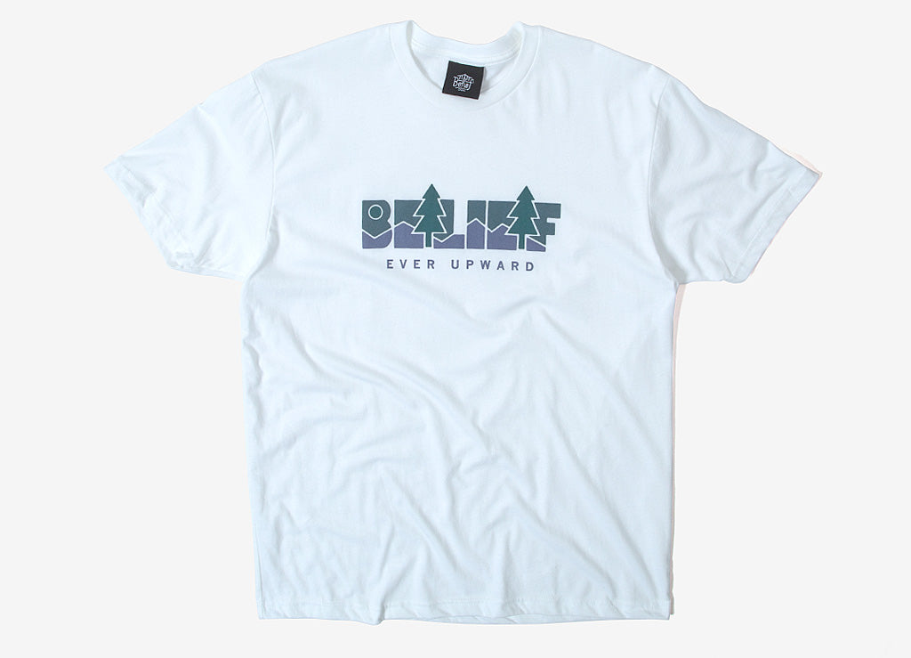 Belief Great Escape T Shirt - White