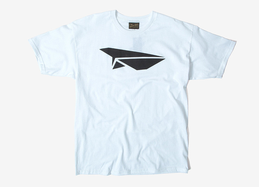 Benny Gold Classic Paper Plane T Shirt - White