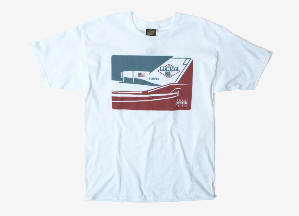 Benny Gold RIP MCA T Shirt - White